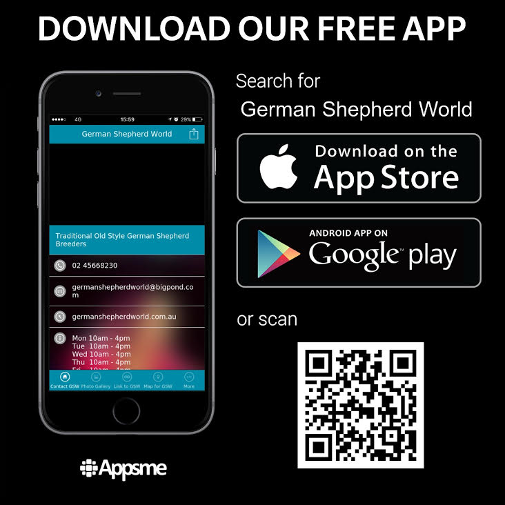 German Shepherd World App